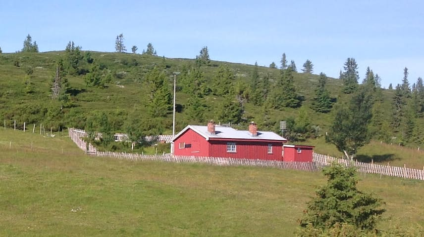 Cosy, traditional cabin in beautiful mountain area - Sør-Fron - Cabaña
