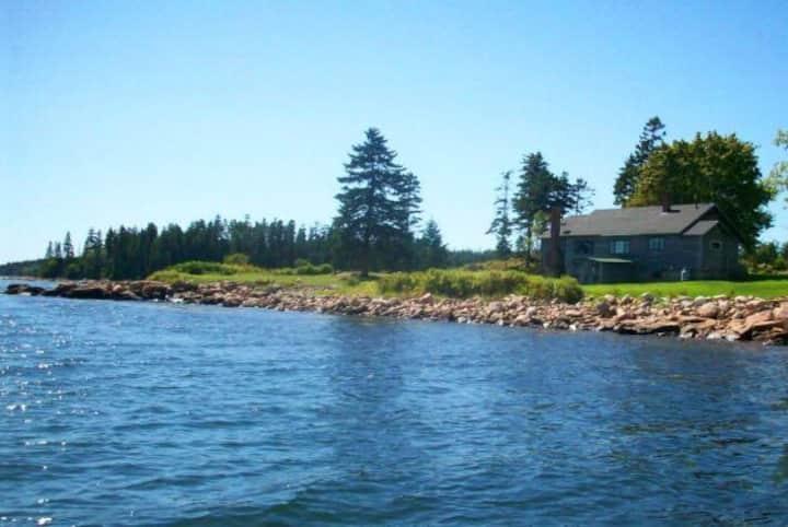 Guptill Cottage on Schoodic Point