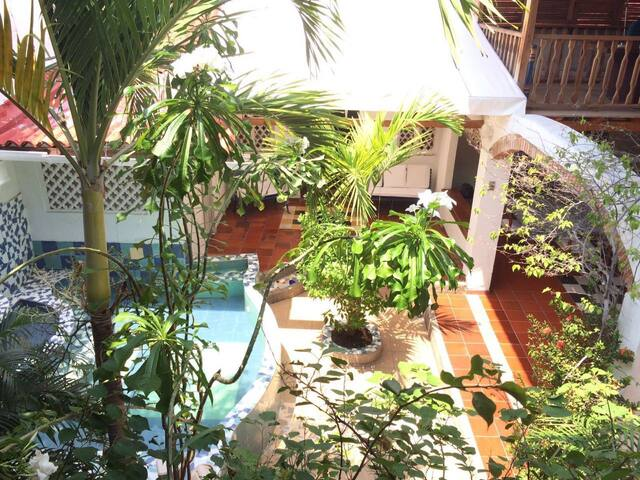 Large Cozy House in Colonial Center of Cartagena - Cartagena - House