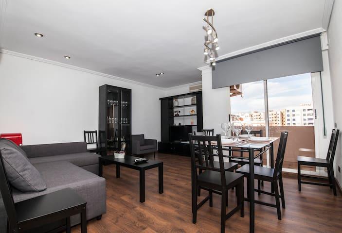 Ático duplex en Castellón con terraza
