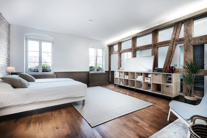 Logement atypique au centre ville - Strasbourg - Apartment
