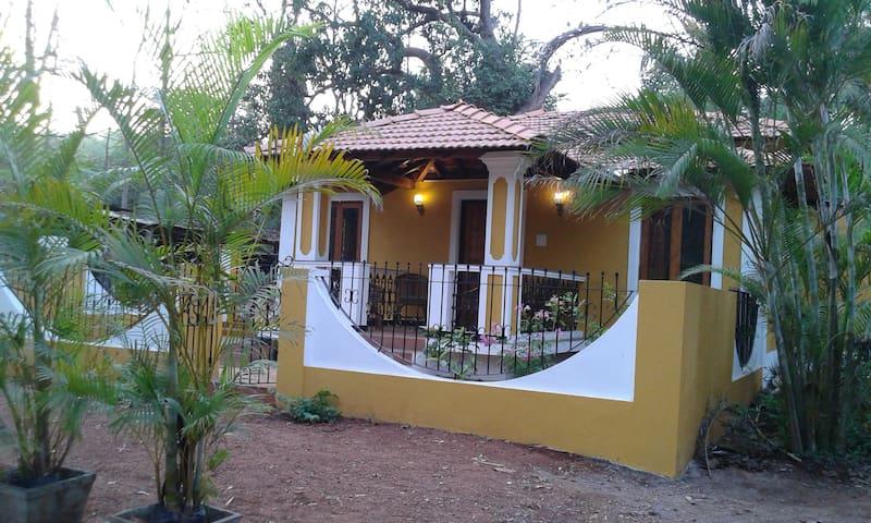 Augusta- 2bhk goan portugues style villa