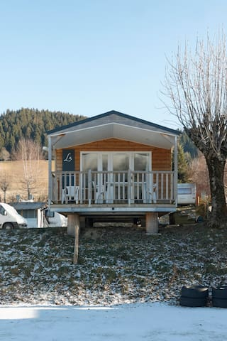 Mobil-home Bois 4 pers, 2 chbres, dans Autrans - Autrans - Bungalow