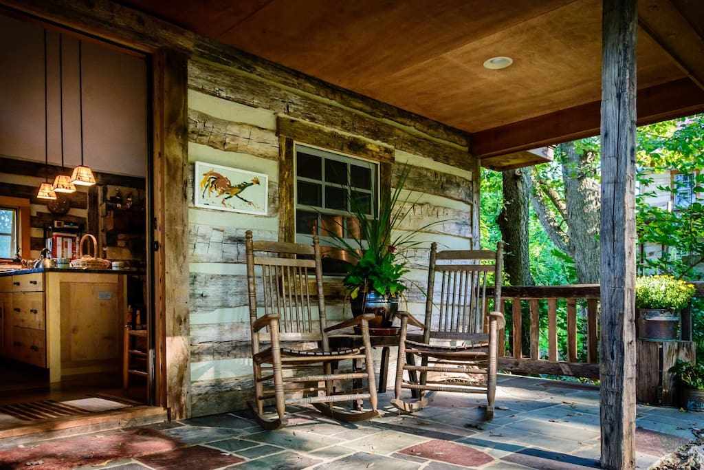 Porch of the Summer Kitchen