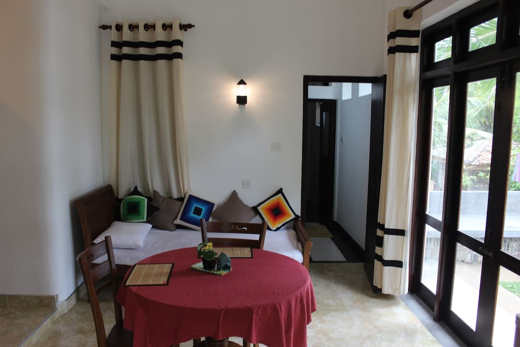 Dining and additional single bed