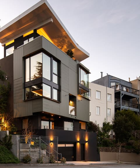 Modern Castro View Home