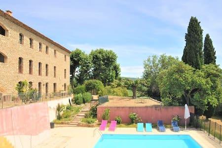 Appartement en Luberon - magnifique vue - piscine
