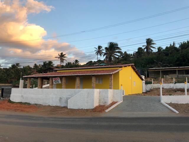 Casa de Praia c/ vista ao Mar- Praia de Redonda/CE