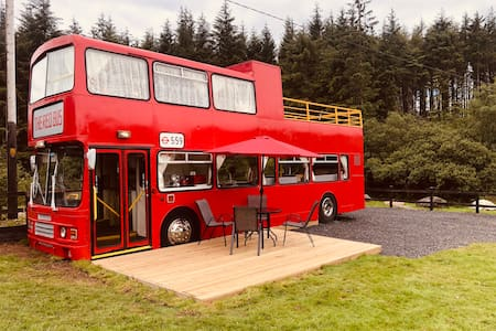 Ox Mountain Red Bus
