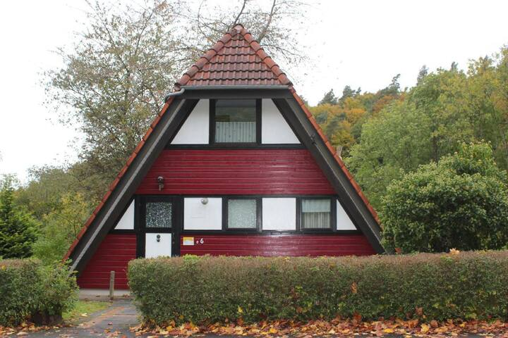 "3 Sterne Ferienhaus ""Mohnblume""1 in Ronshausen"