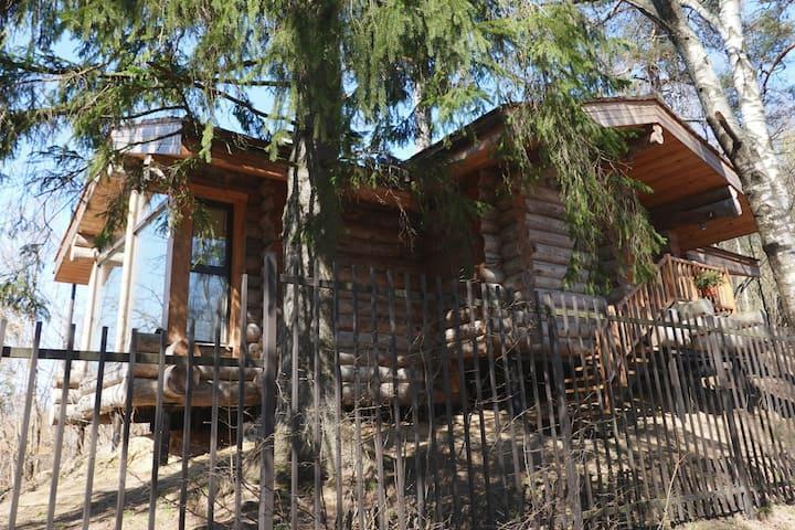 Уютный деревянный эко-дом