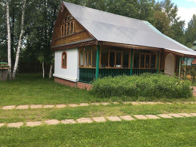 Дом в березовой роще