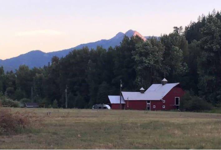 Campsite #2 at Old Barn Farm
