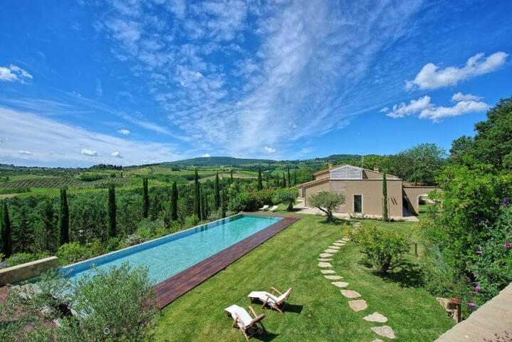 RUBINO - 4 BEDROOMS - LUXURY ACCOMODATION - Poggibonsi - Villa