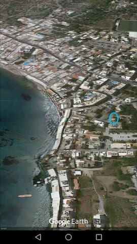 50 metres of the sea in Chersonisos centre