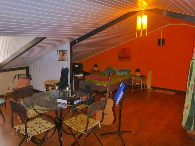 Grand Studio entièrement équipé - Macouria - Flat