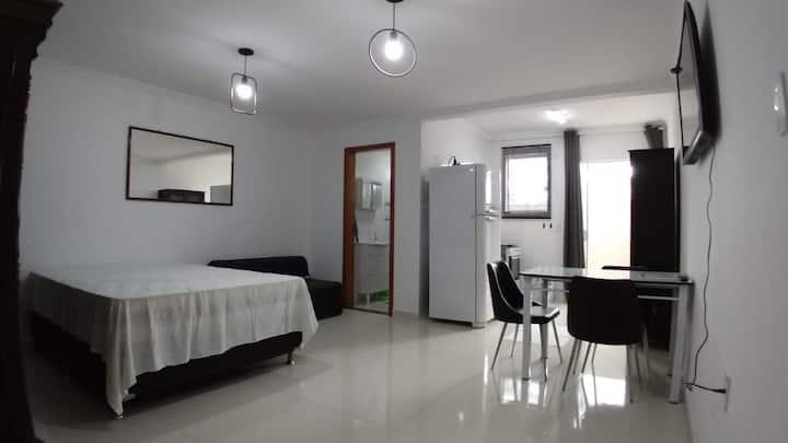 Loft confortável e bem localizado em Floripa