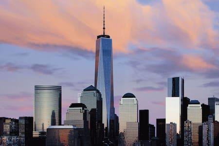 [PENTHOUSE]MANHATTAN SKYLINE VIEW/MODERN/GYM/POOL - Jersey City