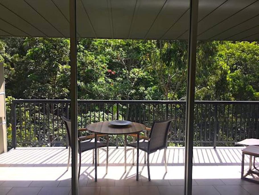 Sunny Balcony Forest View