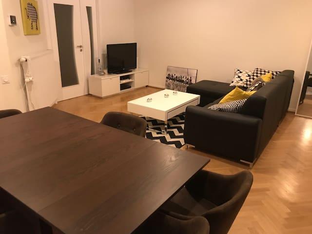 Appartement cosy de 2 pièces proche centre