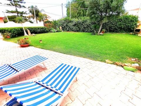 Villa with garden,Arenella,Siracusa