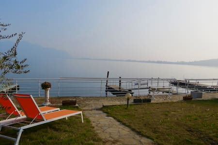 Unique home with garden on the lake - Predore - 公寓