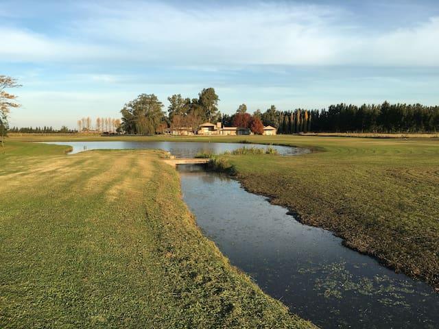 El Secreto, campo y golf,  RN8 km90 - Buenos Aires - House