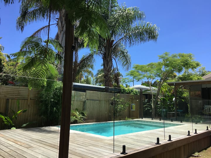 Byron Bay Pool House   - Awesome Location in Town