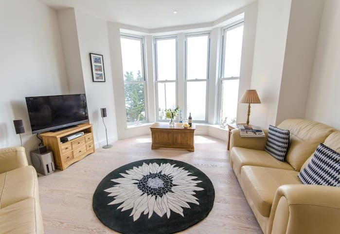 Amazing Sea View, Beach, Balcony Parking Spa & Gym - Saint Ives - Appartement