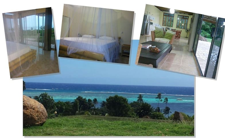 NEW-OCEAN VIEW  House in MOOREA (4 languages) - Ha'apiti - House
