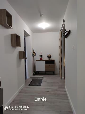 Appartement T2 dans la bastide de st Sulpice