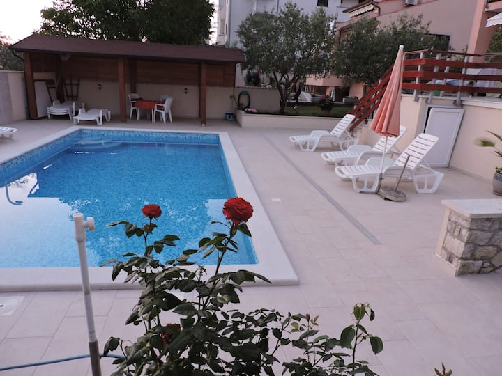 Villa; Sea View Apartment; Saltwater Pool