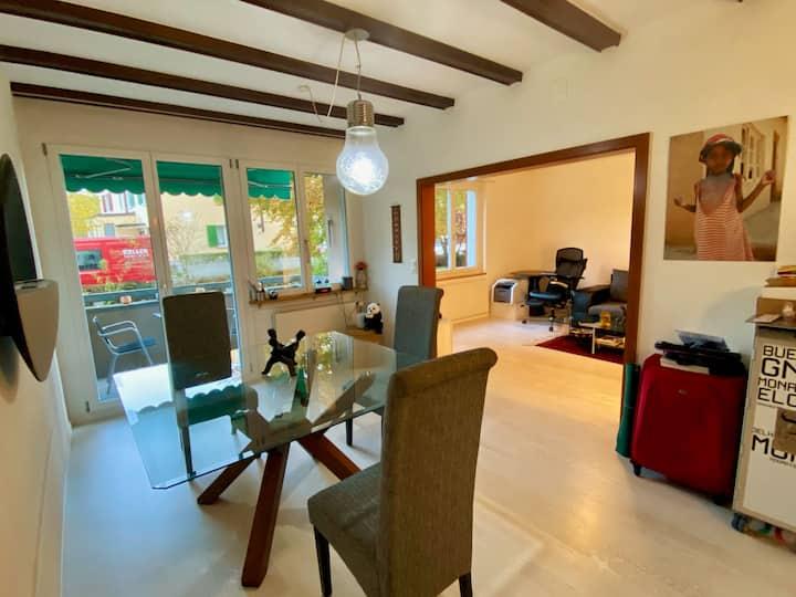2.5-Zimmer Wohnung, Top-Lage, ruhig, Langzeitgäste