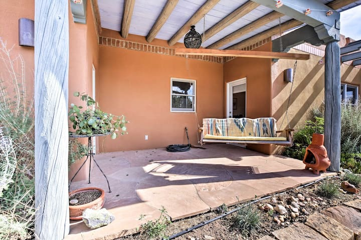 Secluded Santa Fe Guest Home - 3 Miles to Plaza!