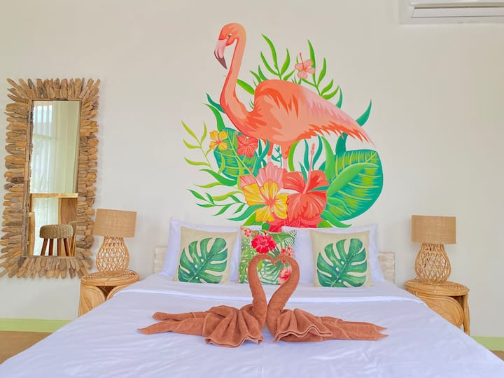 Flamingo Gili Trawangan Tropical room