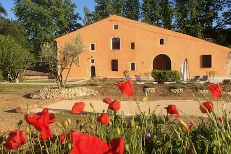 B&B with pool in center Luberon Park,double room4 - Reillanne