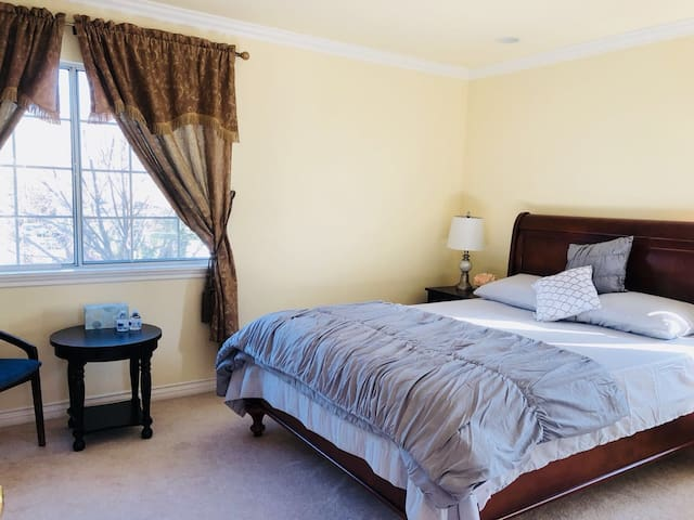 Warm and comfortable independent room