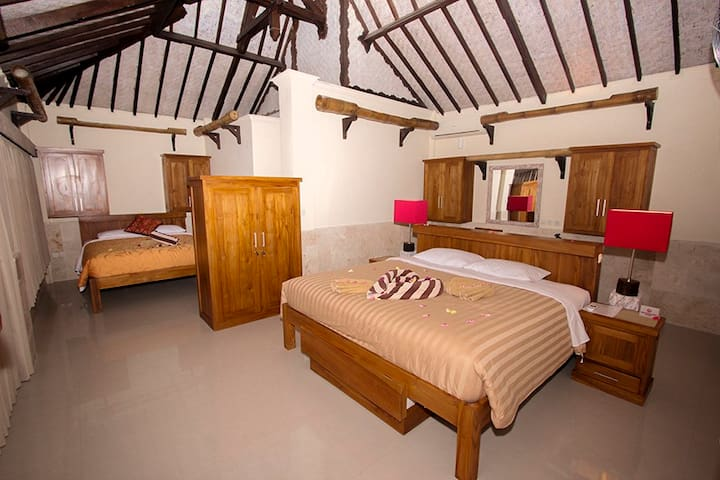 Rinjani Lodge Senaru - Triple Room