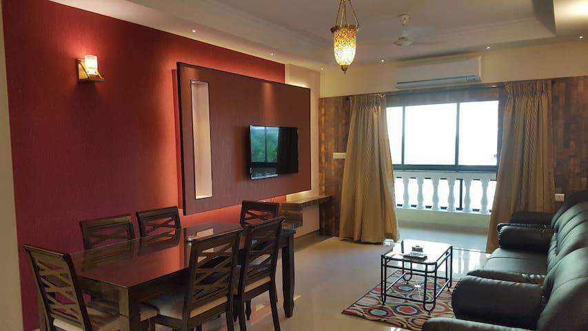 Aquamarine Service Apartments @ Baga, Goa - Arpora - Appartement