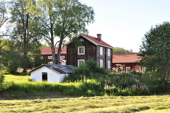 Cozy newly renovated farmhouse near Östersund