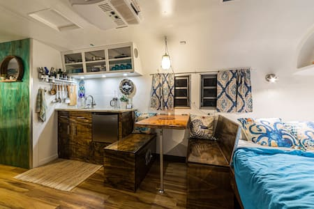 The Charming Beach House Camper in the City
