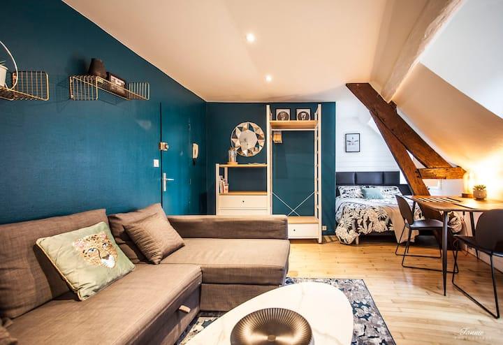 Charmant studio dans l'hyper centre-ville Rennais