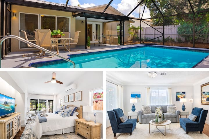 Chic Downtown Luxury Vacation Home 3BR-3BA