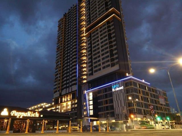 'Nik' Boulevard Guesthouse - Kajang - Appartement