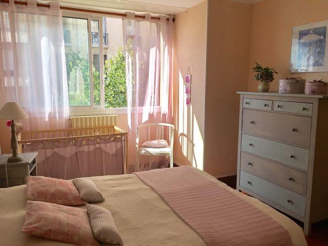 Chambre cosy dans le centre de Marseille - Marseille - Apartemen