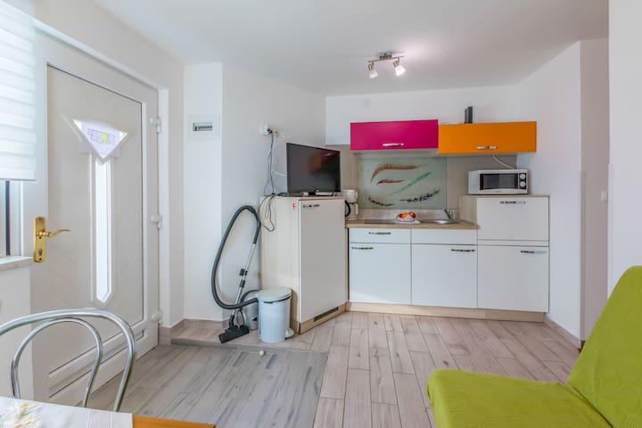 Appartamento Studio, al mare, a Jadranovo (Crikvenica), Il terrazzo
