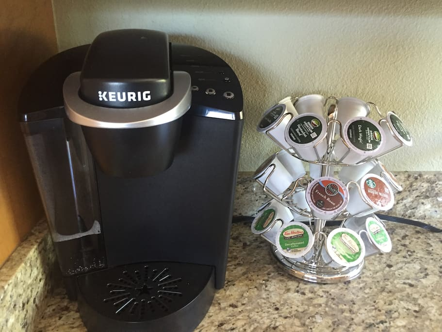 Keurig fully stocked for your morning