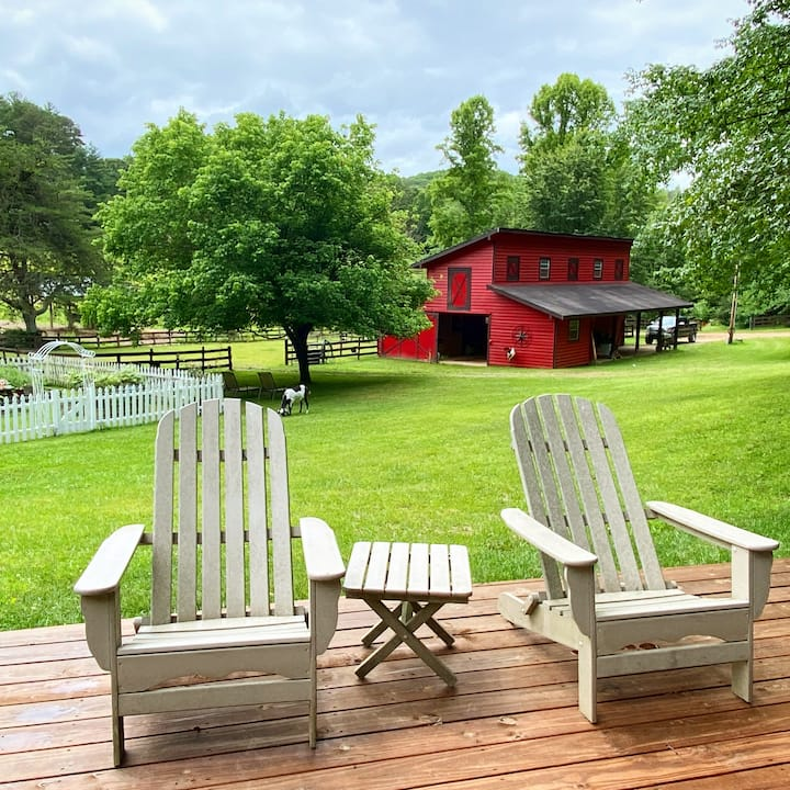 Yoga Retreats & Private Rentals at Rogers Farm