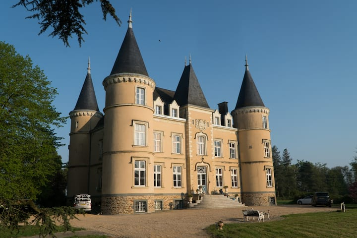 Fairytale chateau in Pays de la Loire, France