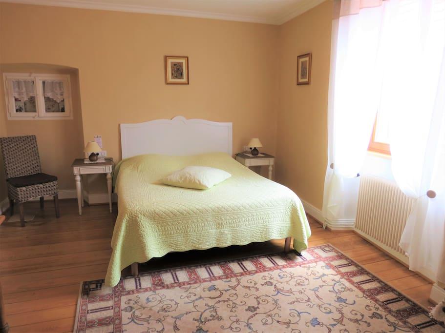 Chambre avec lit de 160 X180